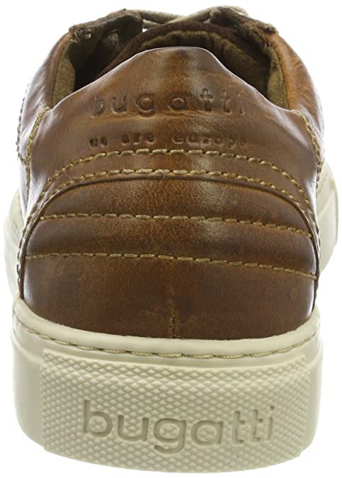 322405021200, Sneaker Uomo, Marrone (Cognac 6300), 44 EU Bugatti