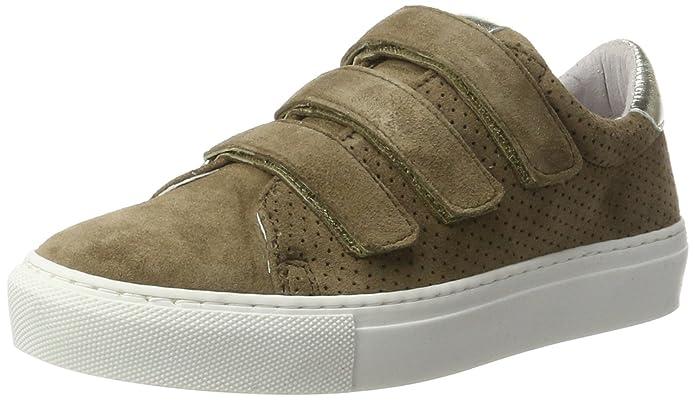Ca'Shott Damen A17150 Sneaker, Mehrfarbig (Taupe Cipro/Gold Galaxy), 40 EU