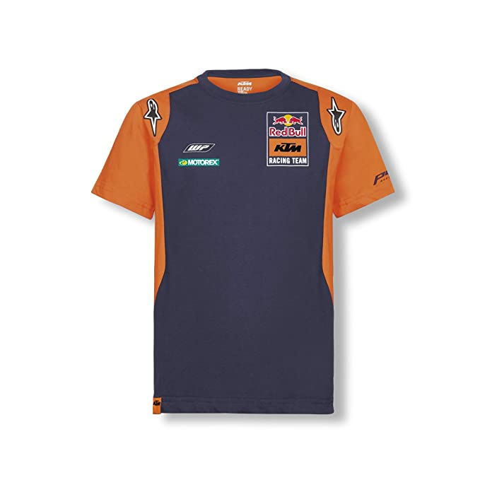 Red Bull KTM Official Teamline Camiseta, Azul Niños Top, KTM ...
