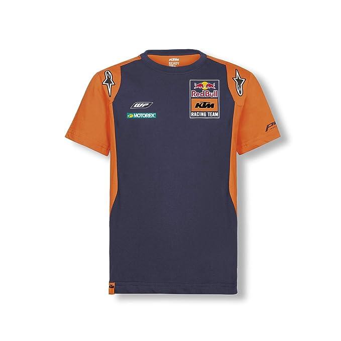 Red Bull KTM Official Teamline Camiseta, Azul Niños Top, KTM ...