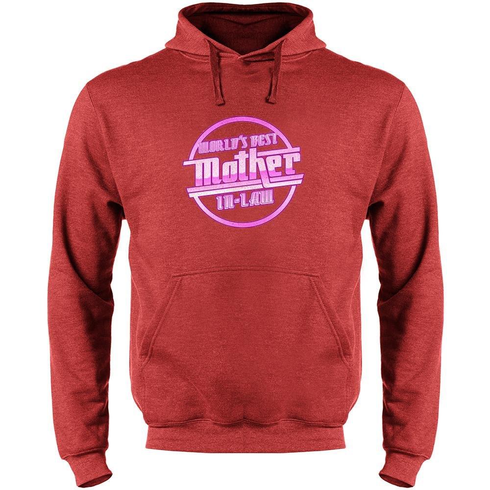 Worlds Best Mother in Law Mothers Day Mens Fleece Hoodie Sweatshirt