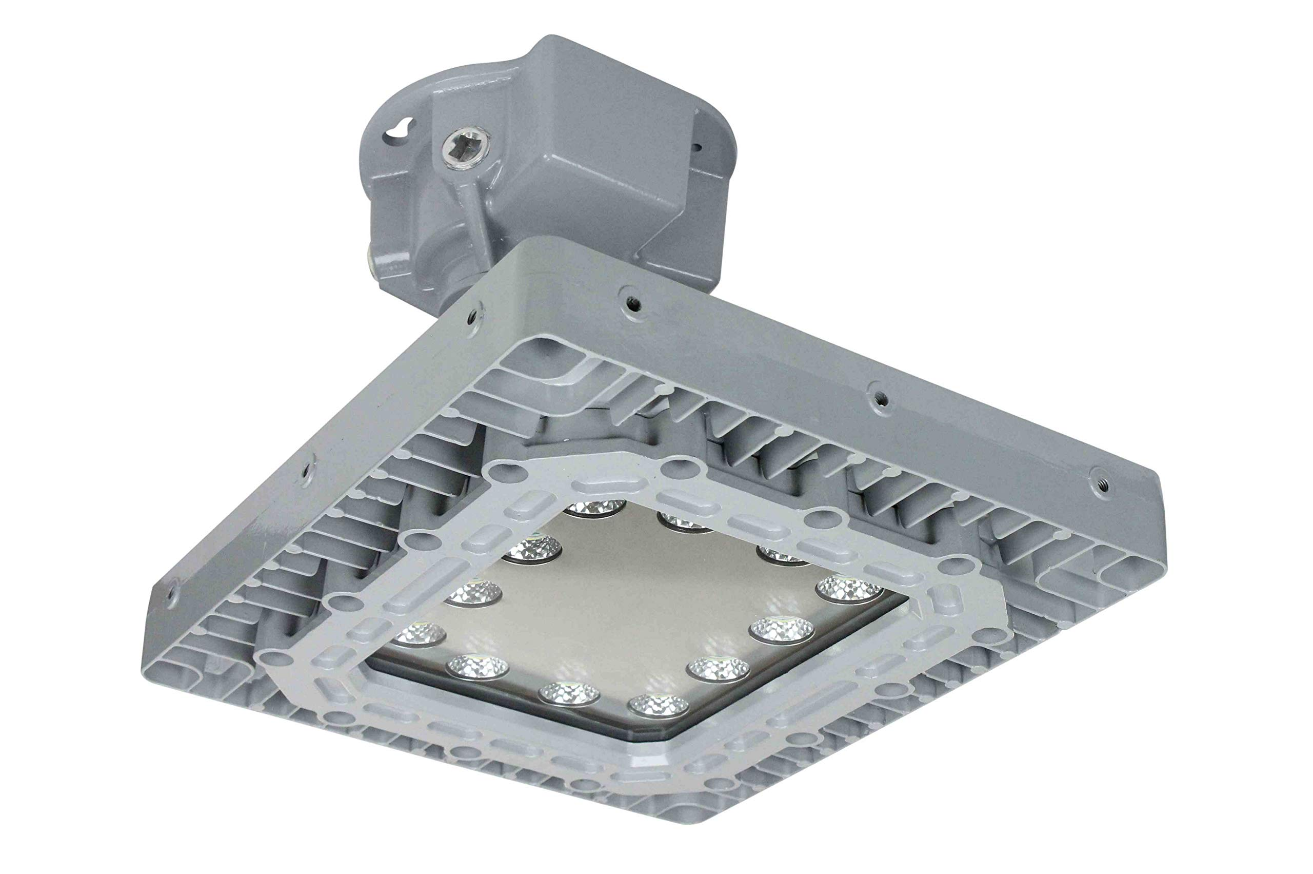 150W Ceiling Mount Explosion Proof High Bay LED Light - Paint Booth Approved - 13 000 Lumens by Larson Electronics