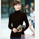 猫毭 新品 复古经典2017秋冬新款女士高领紧身羊毛衫打底长袖短款加厚毛衣套头修身针织衫