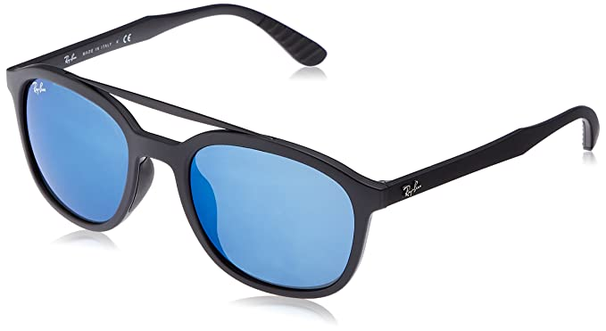 1e2dfcf38af Image Unavailable. Image not available for. Colour  Ray-Ban Men s Injected  Man Sunglass Non-Polarized ...