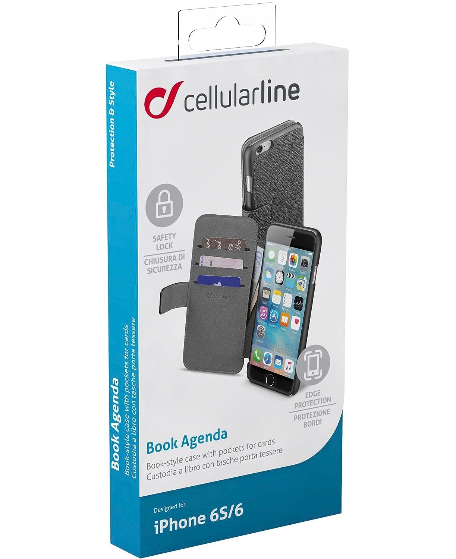 custodia iphone 8 portafoglio cellularline