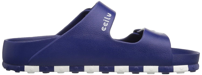 CCILU Mens Check Sandal/_m Flat Sandal