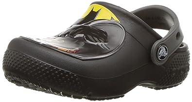 34d35239993398 Crocs Boys Fun Lab Batman Kids Clogs  Amazon.co.uk  Shoes   Bags