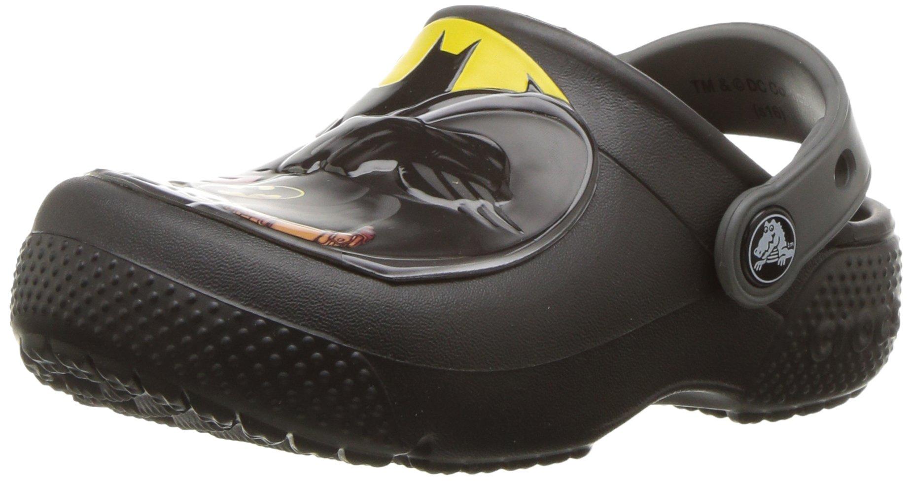 Crocs Boys FL Batman Clog K, Black, 12 M US Little Kid