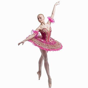 Dance Favoritos bl-1235 Fucsia de Terciopelo Corpiño Disfraz tutú ...