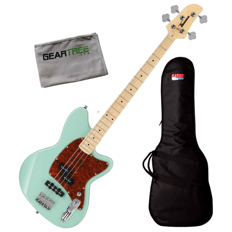 Ibanez TMB100M MGR Mint Green Talman Standard 4-String Bass Guitar w/Bag and Clo