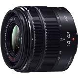 Panasonic 標準ズームレンズ マイクロフォーサーズ用 ルミックス G VARIO 14-42mm/F3.5-5.6 II ASPH./MEGA O.I.S. ブラック H-FS1442A-KA