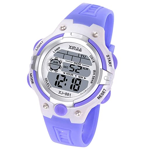 Children's Watches Lovely Boys Girls Digital Multifunctional Date Wristwatches Children Shockproof Waterproof Watch Kids Luminous Outdoor Sports Watches Clients First