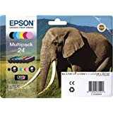EPSON T2428 Cartouches d'encre Multipack Noir + Couleurs C13T24284011