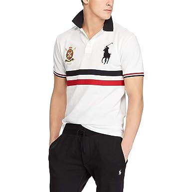 Ralph Lauren - Polo Big Pony - Custom Fit Mesh - White Multi  Amazon ... d1a419f64c4