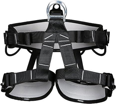 Yougeyu Arnés de escalada, cinturones de seguridad profesionales ...