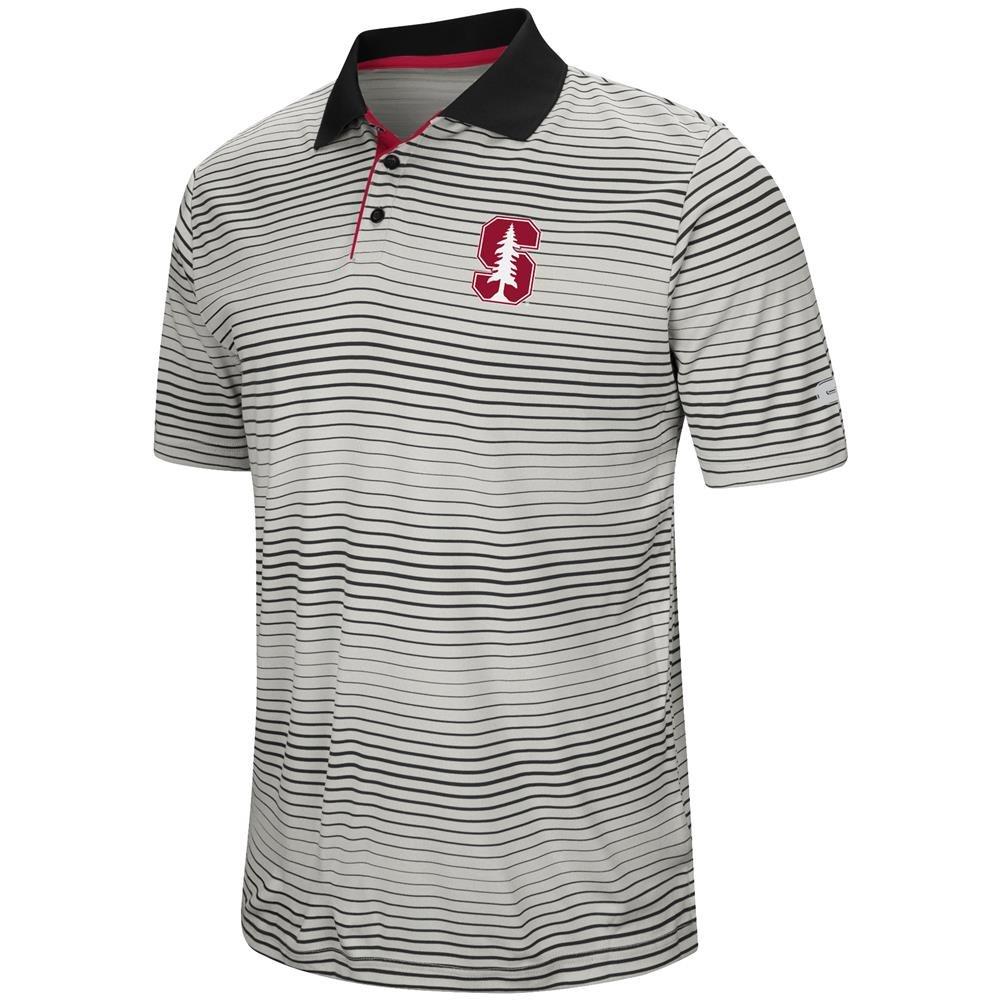 Amazon Colosseum Stanford University Mens Polo Striped