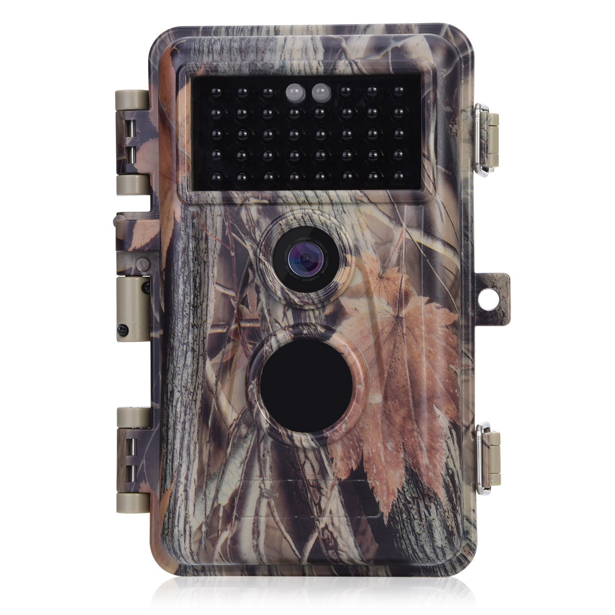 [Upgraded] BlazeVideo 16MP HD 1080P Video Trail Game Camera Hunters Wildlife Hunting Cam No Glow 38 IR LEDs 65ft Night Vision PIR Motion Activated Sensor IP66 Waterproof Password Protected 2.4'' LCD