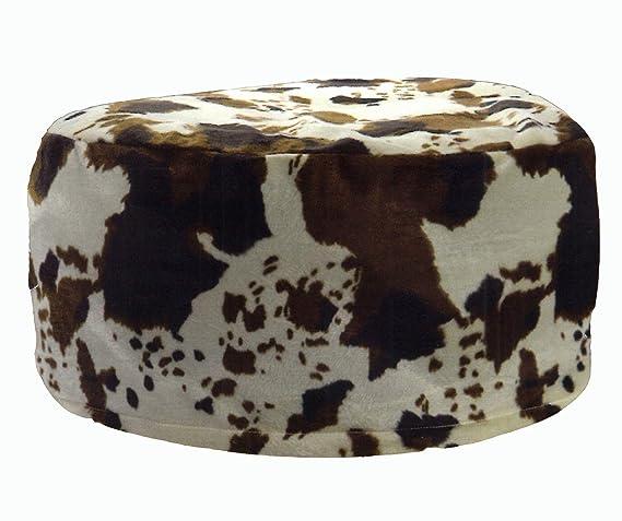 heimtexland® Pouf Vaca Asiento Taburete Hinchable Saco de Asiento ...