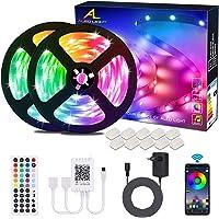 ALED LIGHT LED strip 10M (2x5M), RGB LED strip 5050 SMD 300 (2x150) LED strip, LED licht strip niet waterdicht met 44…