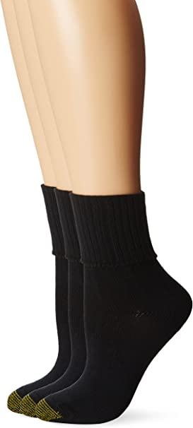 Gold Toe Womens Fashion Pack A 3-Pack Navy Sock Size 9-11//Shoe Size 6-9