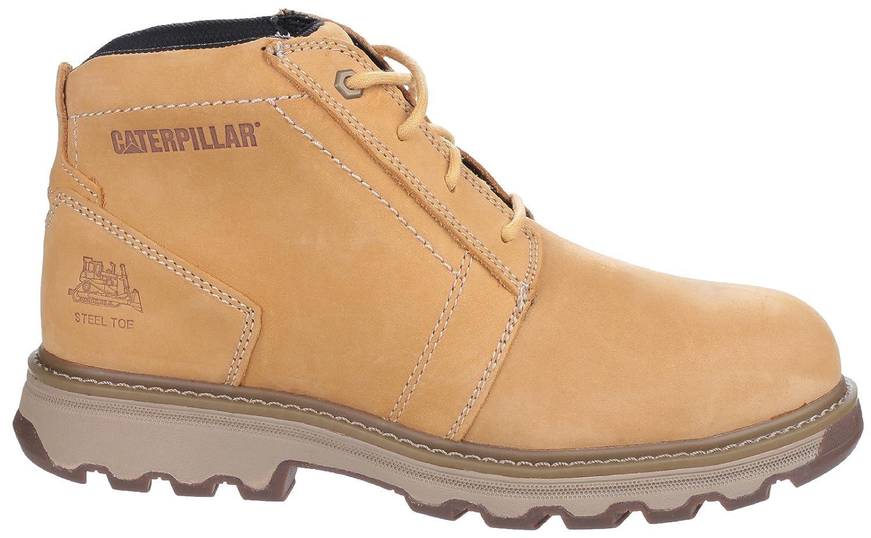 Caterpillar Cat Parker Brown//Tan SBP Work Safety Boots Steel Toe /& Midsole