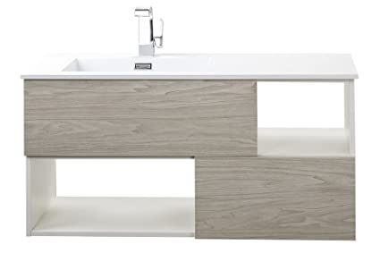 Cutler Kitchen U0026 Bath FVWEEKND42 Sangallo 42 In. Wall Hung Bathroom Vanity,  Weekend Getaway