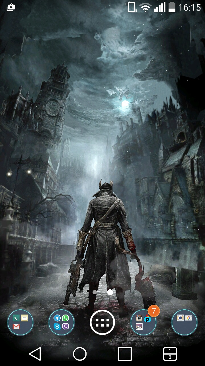 Fan made bloodborne live wallpaper appstore for android - Bloodborne download ...