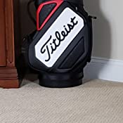 Amazon.com: Titleist Tour den Caddy – negro/blanco/rojo ...
