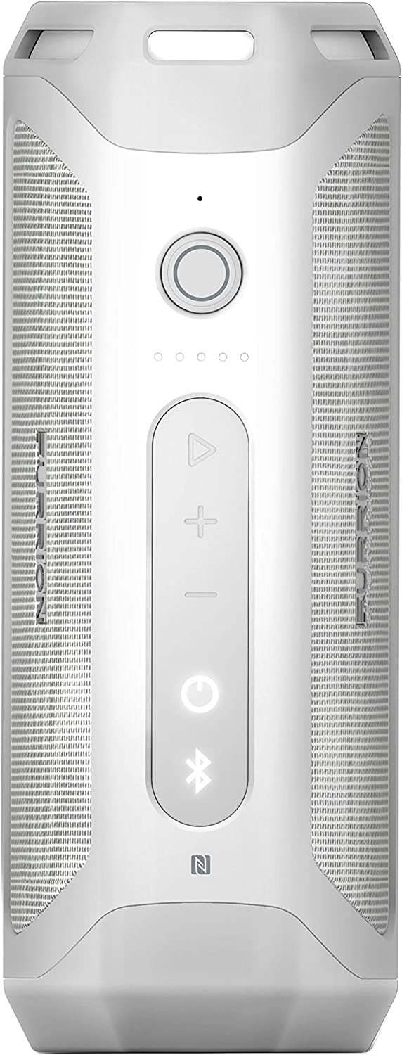 Furrion LIT Portable Wireless Bluetooth Speaker, Waterproof IPX7, Shockproof, Flashlight, Connect 2 Speakers, Siri & Google Now Support; Outdoor Speaker with 15 Hours Playtime (White) - FBS012N-PS