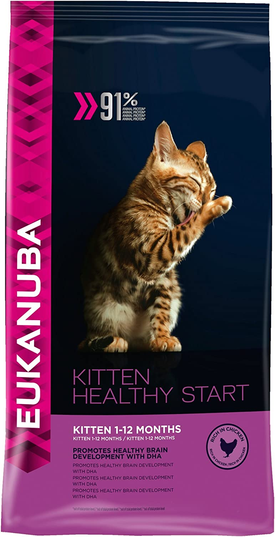 Eukanuba Kitten Food Healthy Start 400 G Amazon Co Uk Pet Supplies