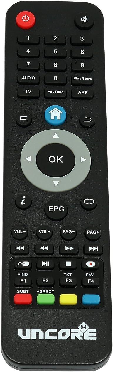 UncoreX Receptor satélite digital 4K Android, Smart TV Box, Ultra HD con HDR y Dolby Plus: Amazon.es: Electrónica
