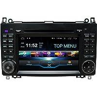 SWTNVIN Android 10 Coche Audio estéreo Fits for Mercedes Benz Clase A W169/Clase B W245/V Clase W639/Vito/Viano/Sprinter…