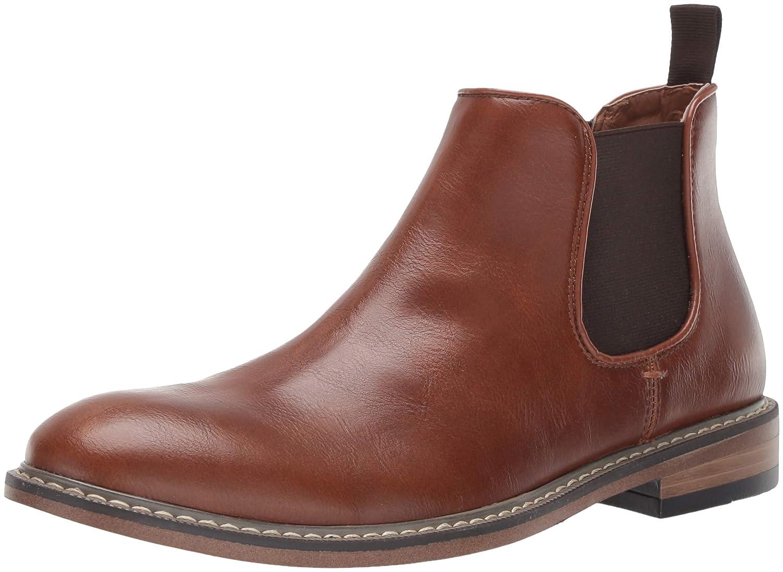 Steve Madden Men's NATHIN Chelsea Boot -Brown