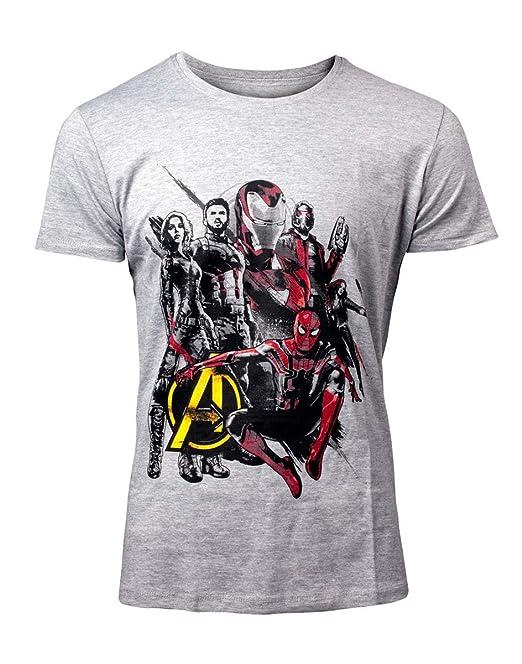 Marvel Camiseta para Hombre Avengers Infinity War etdDM ... 9f85dfcb333