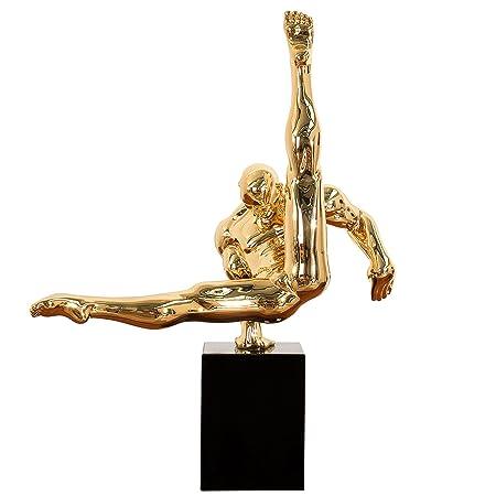 Invicta Interior Design Statue ATHLET II 70 cm gold Turner Dekofigur ...