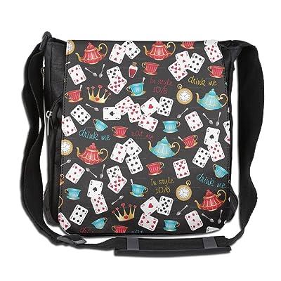 60%OFF Funny Poker Pattern Fashion Outdoor Lightweight Backpack Single Shoulder Crossbody Bags For Men & Women