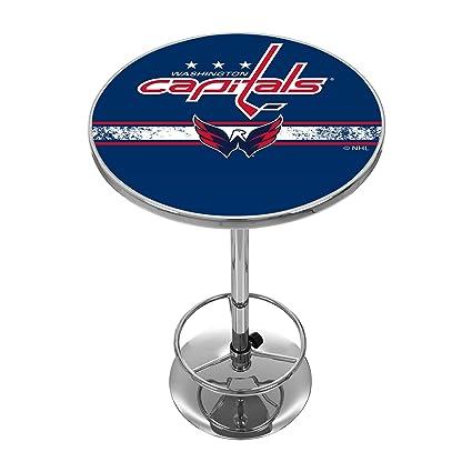 Amazon.com   Trademark Gameroom NHL Washington Capitals Chrome Pub ... 0f8d2043d3a