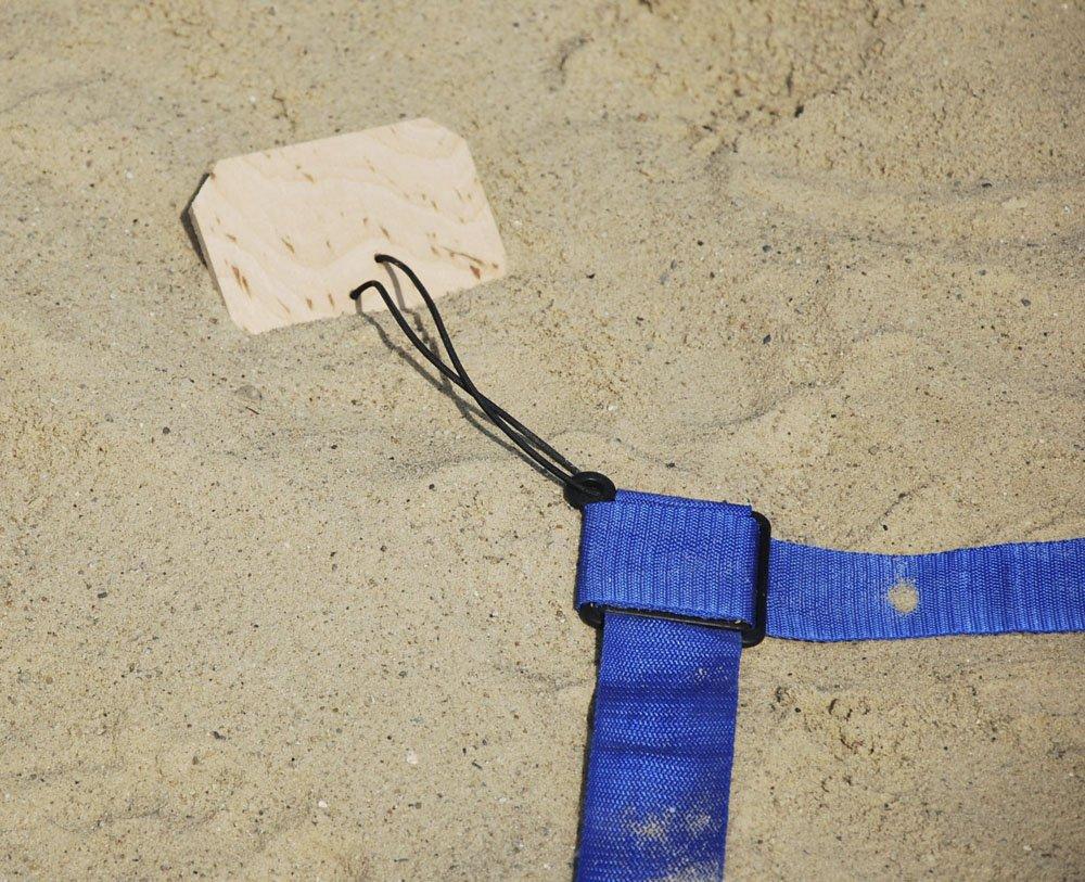 Turnier Beachvolleyball Linien 16x8m, Breite 5cm - Official Spielfeldmarkierung Spielfeldmarkierung Spielfeldmarkierung Volleyball Größe Sand B07DHQ4KBK Volleyball Bequeme Berührung c7a934