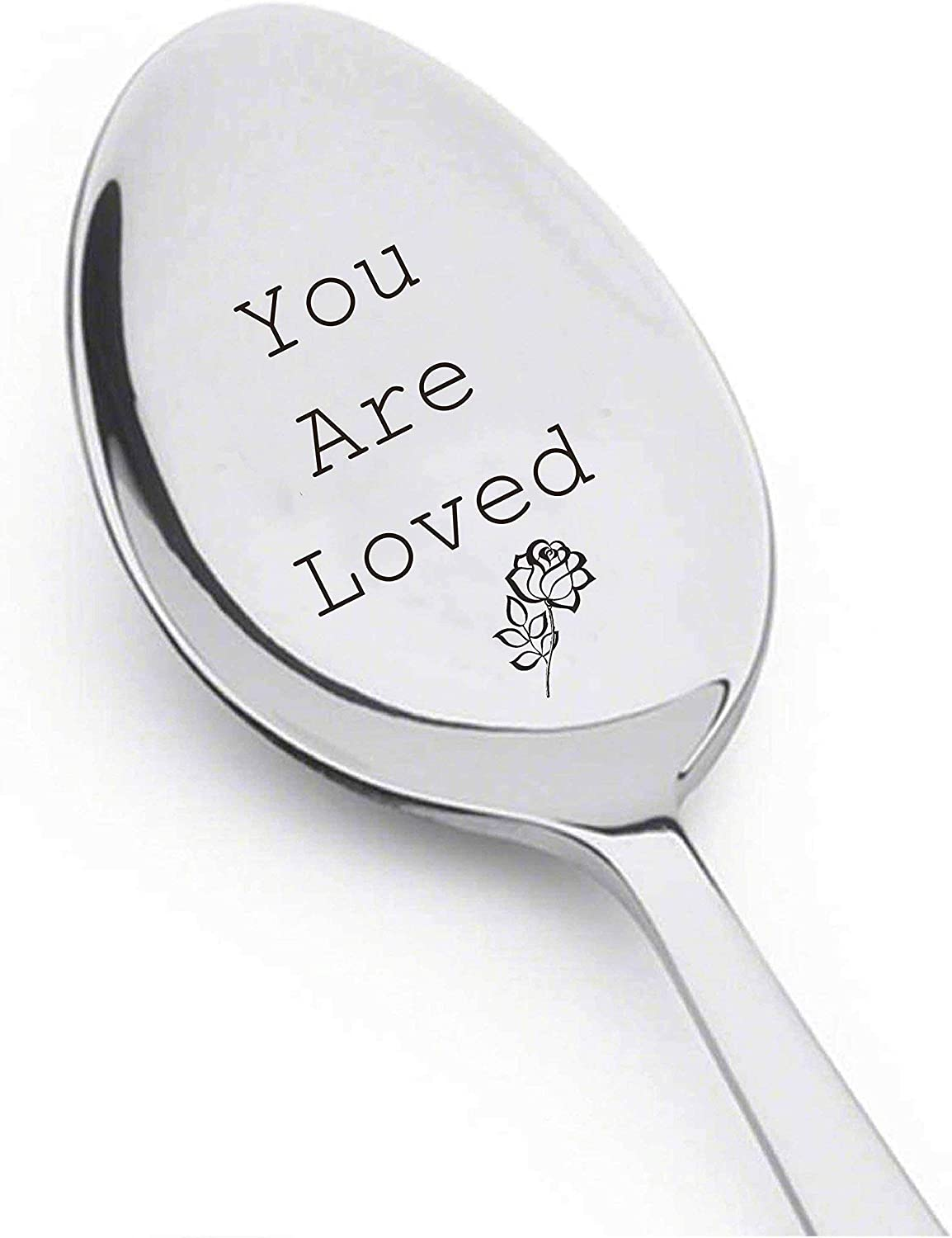 Stir Your Tea /& Think of Me Long Distance Gift Valentine gift Best Selling Item Coffee Lover Gift Customized Spoon
