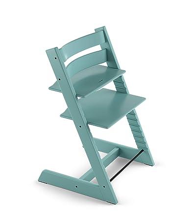 2720db8a0 Amazon.com : Stokke 2019 Tripp Trapp Chair, Chair Only, Aqua Blue : Baby