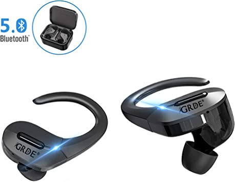 Wireless Earbuds Grde Bluetooth 5 0 Headphones True Wireless Earbuds Tws 3d Stereo Sound Noise Canceling In Ear Wireless Earphones With Charging Case For Sports Upgraded Amazon Ca Electronics