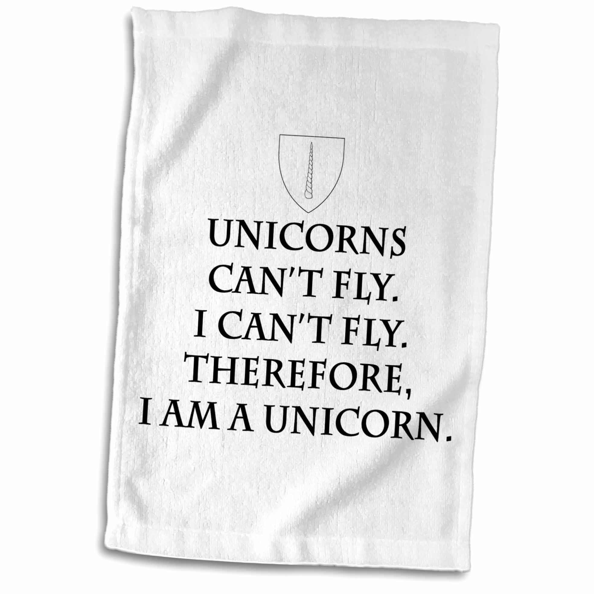 Galleon 3drose Tory Anne Collections Quotes Unicorns Cant Fly I