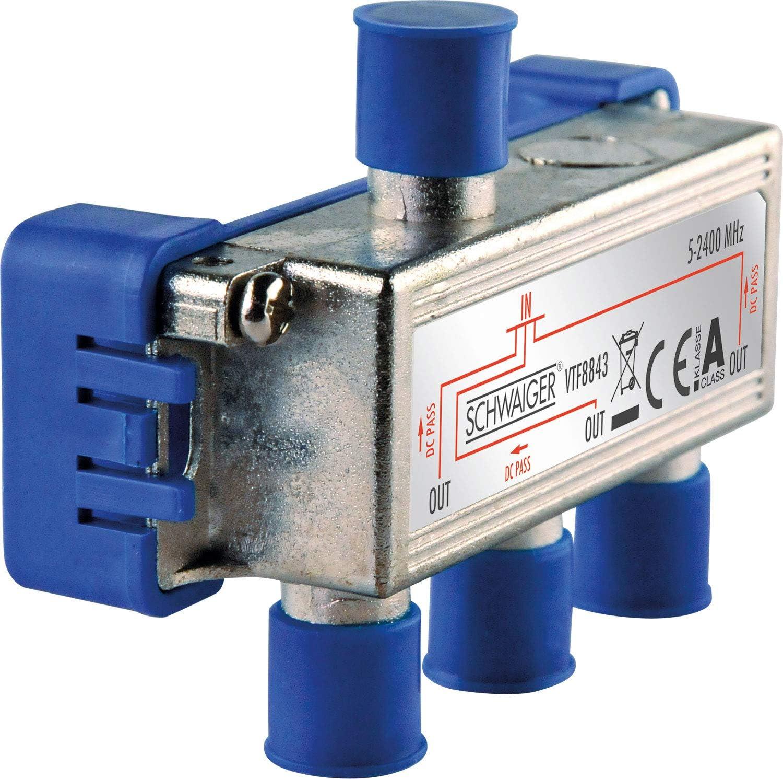 Schwaiger Vtf8843241 High End Verteiler 3 Fach Für Bk Elektronik
