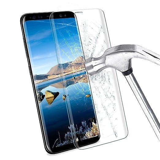 41 opinioni per Samsung Galaxy S8 Pellicola Protettiva, ikalula S8 Vetro Temperato 3D Copertura