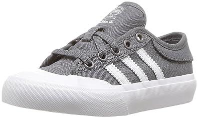 4e303f74d24c adidas Originals Boys  Matchcourt J Running Shoe Grey Four White Gum 1 M