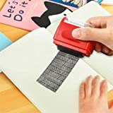 Roller Stamp identity Data Protection Stamps like a shredder Camouflage made of plastic identity theft stamps