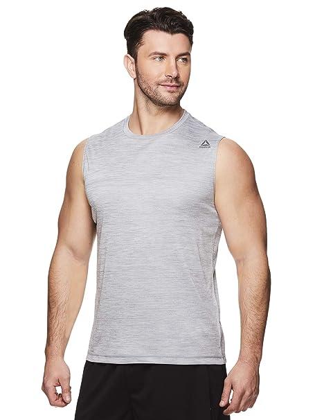 4711fd2a Reebok Men's Muscle Tank Top - Sleeveless Workout & Training ...