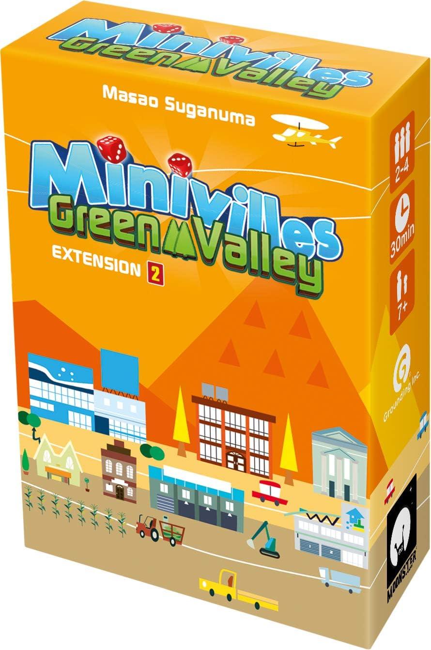 Monster Games - MOOMINI3 - Juego de estrategia - Minivilles Green Valley Expansión 2 , color/modelo surtido: Amazon.es: Juguetes y juegos