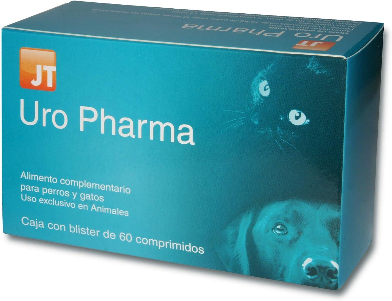 JTPharma Uro Pharma - Alimento Complementario para Mascotas, 60 Comprimidos
