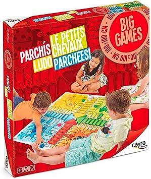 Cayro - Parchís Gigante - Juego de mesa infantil - parchís ...